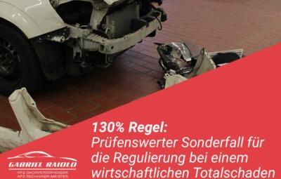 130 prozent regel 400x255 - Kfz Gutachten: Grundlage, um nach einem Autounfall den Schaden zu beziffern