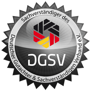 DGSV Mitglied Kfz Gutachter Raiolo Hamburg