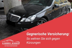 Gegnerische Versicherung 300x200 - Verbringungskosten: Ein klassischer Streitpunkt bei der Schadensregulierung