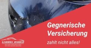 Kfz Gutachter Hamburg - Versicherung zahlt nicht alles