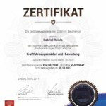 Kfz Gutachter Raiolo - DGSV Zertifikat