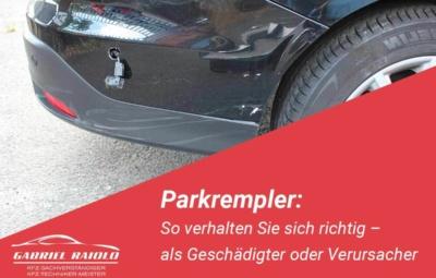 Parkrempler 400x255 - Fahrerflucht: Unerlaubtes Entfernen vom Unfallort kann hohe Strafen nach sich ziehen!