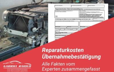 Reparaturkosten 400x255 - Wie werde ich Kfz Sachverständiger?