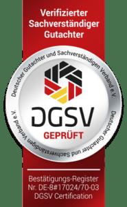 Siegel-DGSV-Kfz-Gutachter-Raiolo-Hamburg