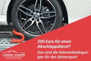 abschleppdienst 1 300x200 - Gebrauchtwagen Check: Beim Autokauf auf der sicheren Seite
