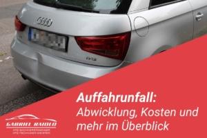 Auffahrunfall Kfz Gutachter Hamburg