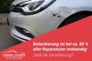 beilackierung 300x200 - Wegen Schleudertrauma Schmerzensgeld: Sind mehr als 500 Euro Schadensersatz realistisch?