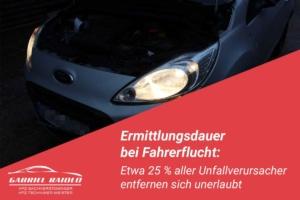 ermittlungsdauer fahrerflucht 300x200 - 5 bis 7 % Wertminderung für Neufahrzeuge: Wie viel weniger ist mein Unfallwagen wert?