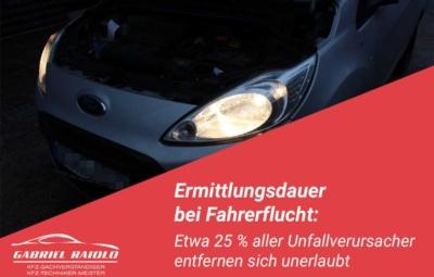 ermittlungsdauer fahrerflucht 400x255 - 5 bis 7 % Wertminderung für Neufahrzeuge: Wie viel weniger ist mein Unfallwagen wert?