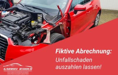 fiktive abrechnung 400x255 - Kfz Gutachten: Grundlage, um nach einem Autounfall den Schaden zu beziffern