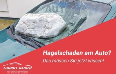 hagelschaden auto 400x255 - Kfz Gutachten: Grundlage, um nach einem Autounfall den Schaden zu beziffern