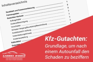kfz gutachten 300x200 - Wiederbeschaffungswert: Wichtiger Bestandteil im Kfz-Gutachten