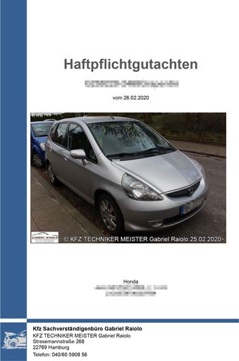 kfz gutachten inhalte - Kfz Gutachten: Grundlage, um nach einem Autounfall den Schaden zu beziffern