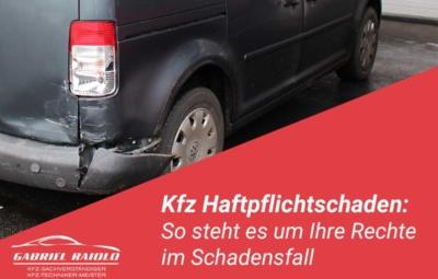 kfz haftpflichtschaden 400x255 - Kfz Gutachten: Grundlage, um nach einem Autounfall den Schaden zu beziffern