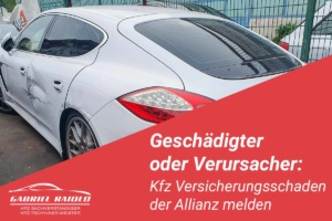 kfz versicherungsschaden allianz melden 300x200 - HUK Coburg Schadensmeldung: Das sollten Geschädigte / Unfallverursacher wissen!