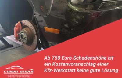 kostenvoranschlag werkstatt 400x255 - Ein (unbekannter) Vorschaden am Auto kann zum 2. Problemfall bei der Schadensregulierung werden