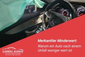 merkantiler minderwert 300x200 - 5 bis 7 % Wertminderung für Neufahrzeuge: Wie viel weniger ist mein Unfallwagen wert?