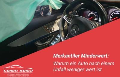 merkantiler minderwert 400x255 - Parkrempler: So verhalten Sie sich als Geschädigter oder Verursacher am Unfallort richtig!