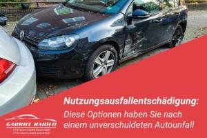 nutzungsausfallentschaedigung 300x200 - Kfz Gutachten: Grundlage, um nach einem Autounfall den Schaden zu beziffern