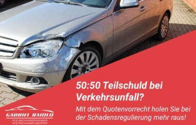 quotenvorrecht 400x255 - Parkrempler: So verhalten Sie sich als Geschädigter oder Verursacher am Unfallort richtig!
