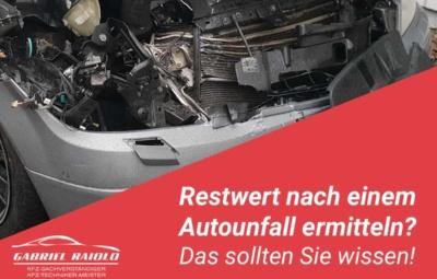 restwert auto 400x255 - Kfz Gutachten: Grundlage, um nach einem Autounfall den Schaden zu beziffern