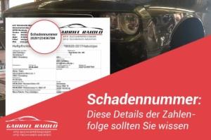 schadennummer 300x200 - HUK Coburg Schadensmeldung: Das sollten Geschädigte / Unfallverursacher wissen!