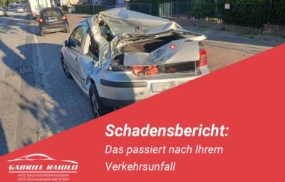 schadensbericht 400x255 - Unfallhergang schildern: Was Sie über Skizzen und Berichte wissen sollten