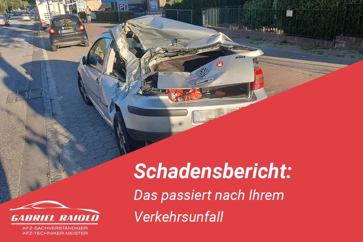 schadensbericht - 5 Minuten Lesezeit für Ihren Schadensbericht: Das passiert nach Ihrem Verkehrsunfall