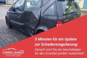 schadensregulierung 300x200 - Unfallschaden auszahlen lassen zu 100%? Es gibt keinen Automatismus für eine Reparatur!