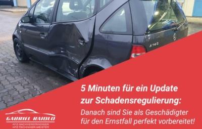 schadensregulierung 400x255 - Parkrempler: So verhalten Sie sich als Geschädigter oder Verursacher am Unfallort richtig!