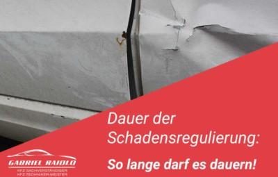 schadensregulierung dauer versicherung 400x255 - Unfallschaden
