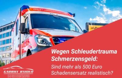 schleudertrauma schmerzensgeld 400x255 - Parkrempler: So verhalten Sie sich als Geschädigter oder Verursacher am Unfallort richtig!