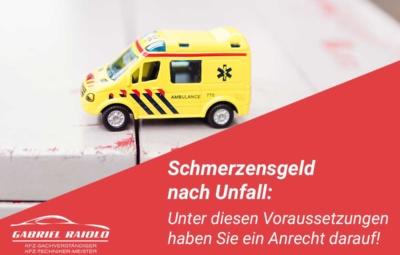 schmerzensgeld nach unfall 400x255 - Kfz Gutachten: Grundlage, um nach einem Autounfall den Schaden zu beziffern