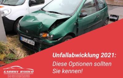 unfallabwicklung 400x255 - Restwert nach einem Autounfall ermitteln? Das sollten Sie wissen!
