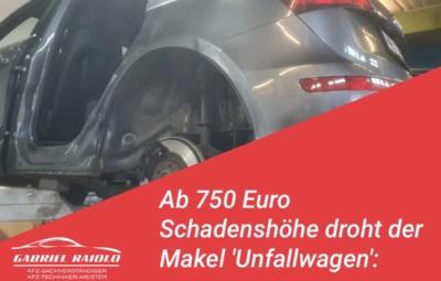 unfallwagen 400x255 - Ein (unbekannter) Vorschaden am Auto kann zum 2. Problemfall bei der Schadensregulierung werden