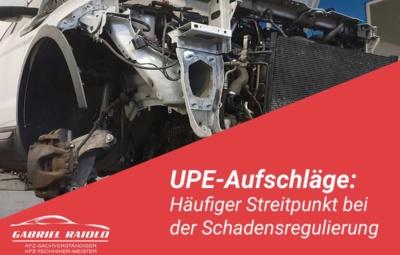 upe aufschlaege 400x255 - Kfz Gutachten: Grundlage, um nach einem Autounfall den Schaden zu beziffern