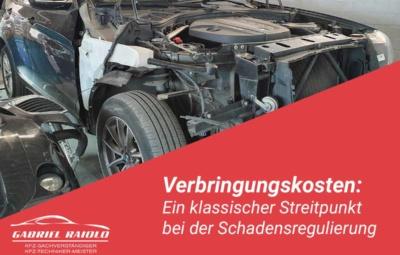 verbringungskosten 400x255 - Kfz Gutachten: Grundlage, um nach einem Autounfall den Schaden zu beziffern