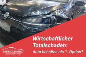 wirtschaftlicher totalschaden auto behalten 300x200 - Ein (unbekannter) Vorschaden am Auto kann zum 2. Problemfall bei der Schadensregulierung werden