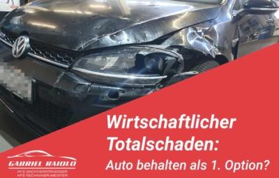 wirtschaftlicher totalschaden auto behalten 400x255 - Unfallhergang schildern: Was Sie über Skizzen und Berichte wissen sollten